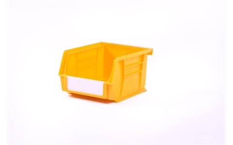 Size 2 Linbins - H75mm x W105mm x D135mm - Pack of 20 - Yellow Storage Bins