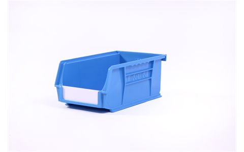 Size 3 Linbins - H75mm x W105mm x D190mm - Pack of 20 - Blue Storage Bins