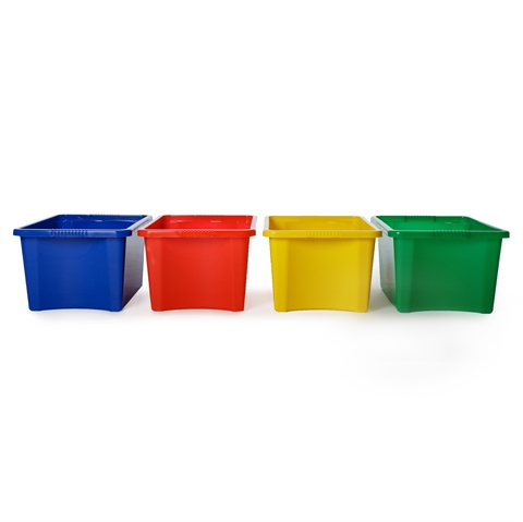 Coloured Storage Containers